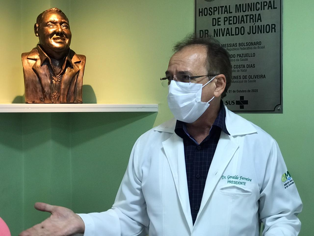Visita ao Hospital Municipal Dr. Nivaldo Junior